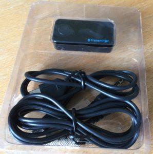 Bluetooth sender til høretelefoner