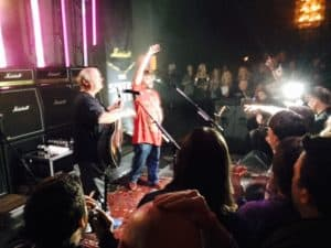 Marshall holder intimkoncert med Jack Black og Tenacious D