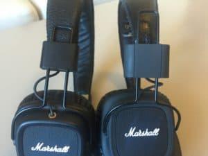 Sammenligning af Marshall Major 2 og Marshall Major FX